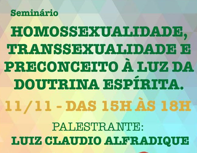 Homossexualidade, Transexualidade e Preconceito à luz da Doutrina Espírita
